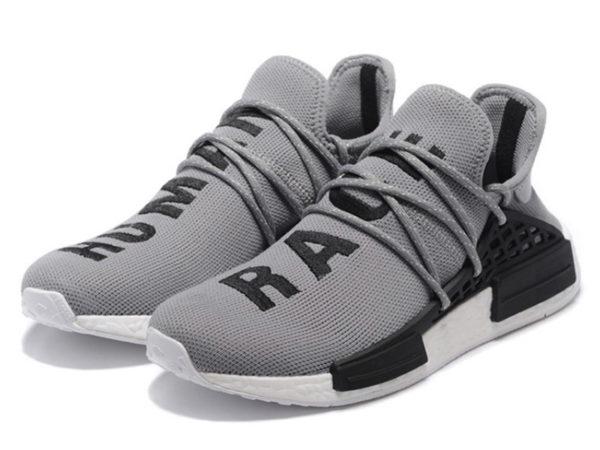Adidas NMD Human Race серые с черным (36-44)