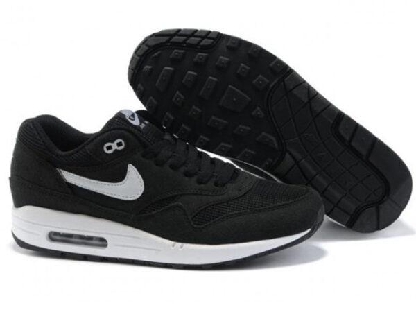 Nike Air Max 87 черные с белым (40-45)