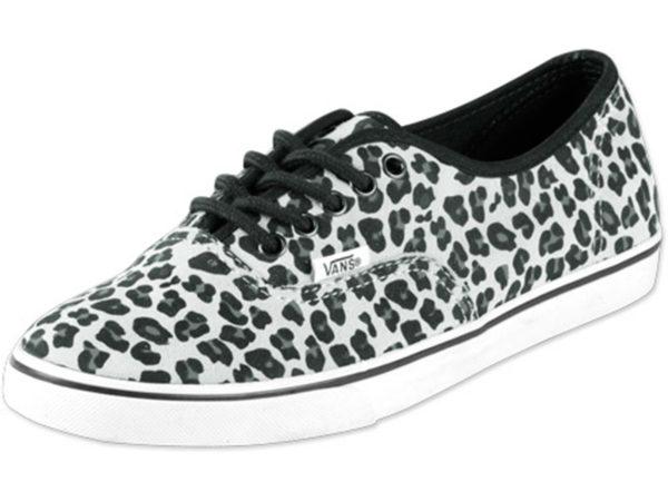 Vans Authentic леопардовые светло-серые (35-41)