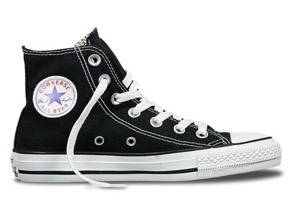 Converse Chuck Taylor All Star High черные с белым (35-45)