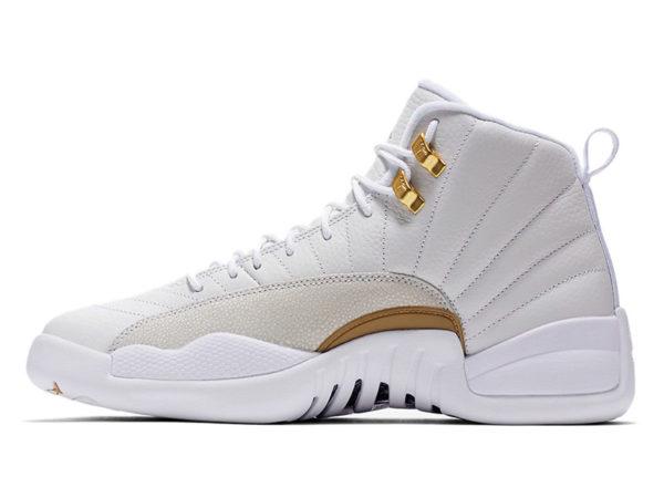 Nike Air Jordan 12 Retro белые (40-46)