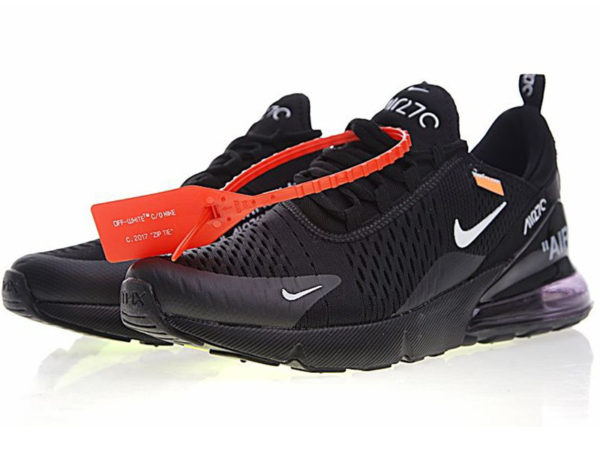 Nike Air Max 270 Off White X черные (35-45)