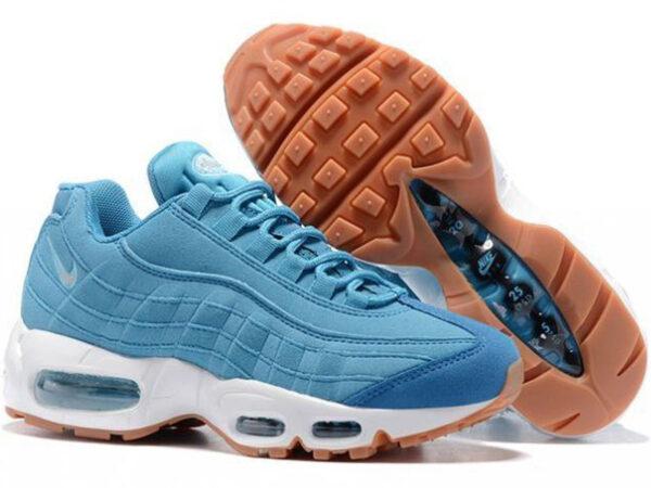 Nike Air Max 95 голубые (35-40)