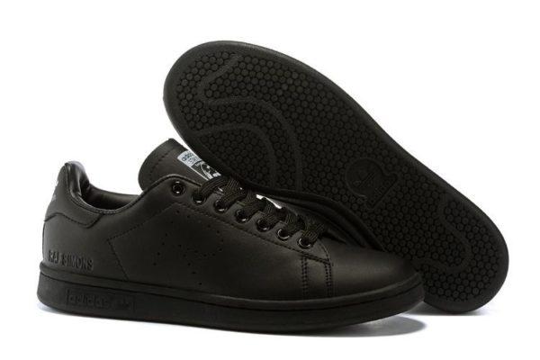 Adidas Stan Smith Black черные (35-44)