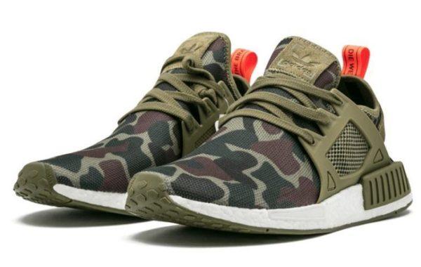 Камуфляжные кроссовки Adidas