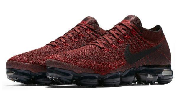 Nike Air VaporMax Flyknit red красные 40-44