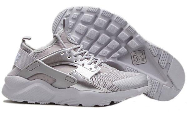 Nike Air Huarache Ultra Серебряные (36-40)