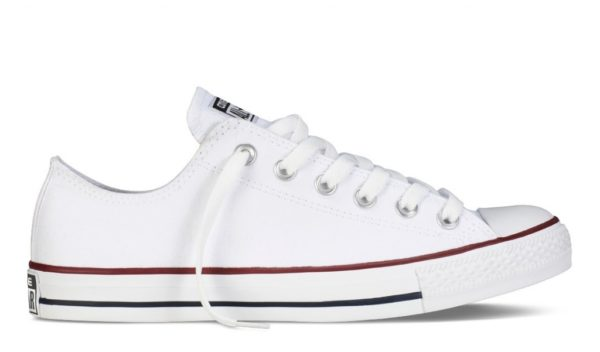 Converse All Star Chuck Taylor low white низкие белые (35-45)
