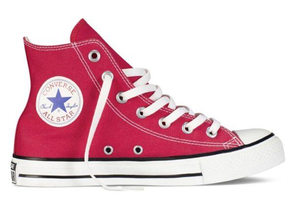 Converse All Star высокие red красные (35-45)