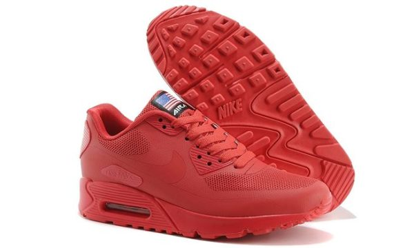 Nike Air Max 90 Hyperfuse красные (41-45)