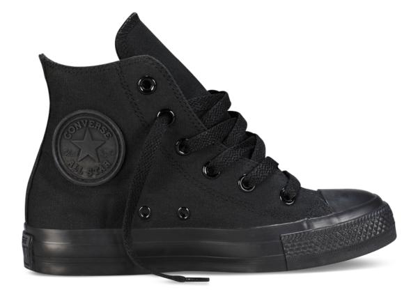 Converse All Star высокие черные  black (35-45)