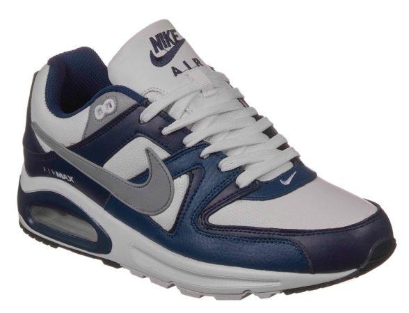 Nike Air Max 90 Skyline белые с синим (40-45)