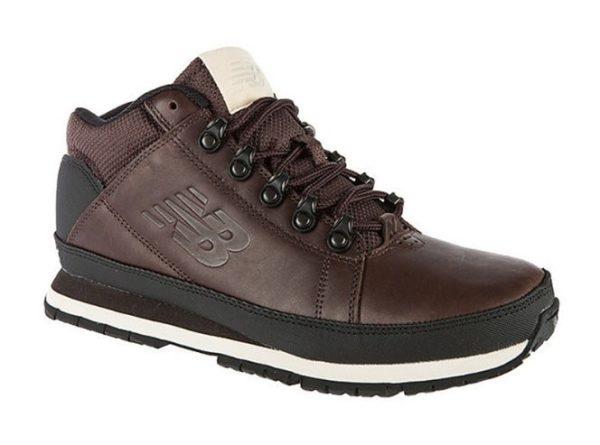 New Balance 754 кожаные темно-коричневые (40-45)