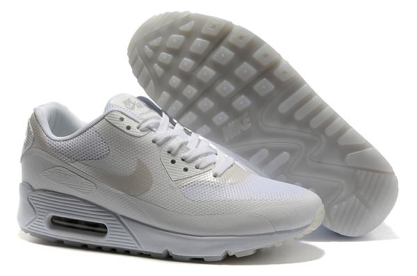 Nike Air Max 90 Hyperfuse белые (41-45)