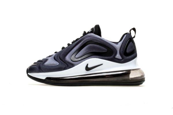 Nike Air Max 720 фиолетовые с черным и белым (40-44)