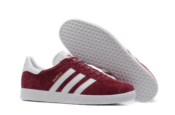 Бордовые кроссовки Adidas