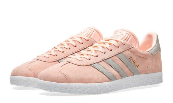 Adidas Gazelle W розовые с серым (35-39)