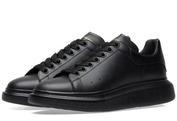 Alexander Mcqueen Leather черные (35-44)