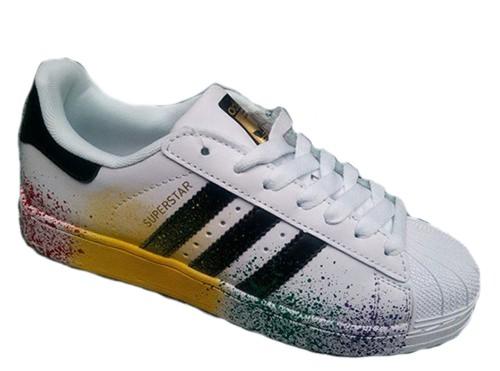 Adidas Superstar Paint белые white (35-40)