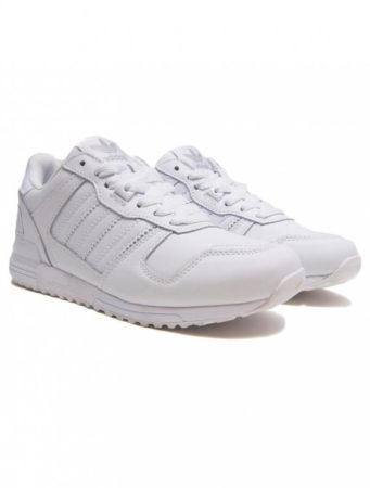 Adidas ZX 700 white leather мужские (40-45)
