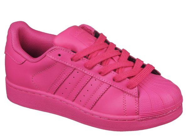 Adidas Superstar малиновые (35-39)