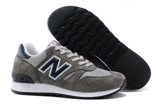 New Balance 670 серые с синим (41-44)