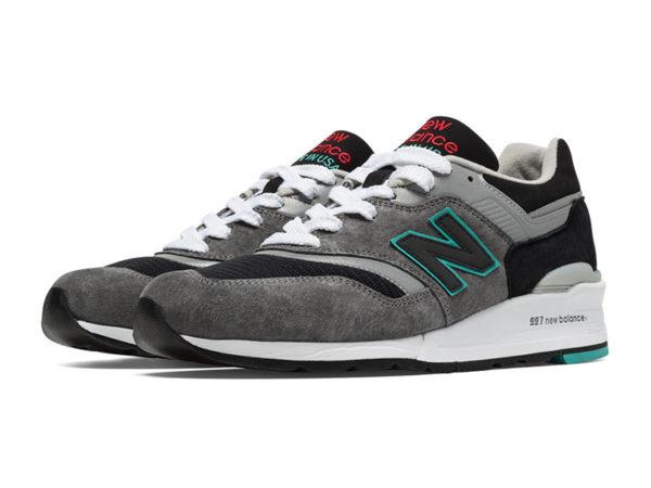 New Balance 997 черно-серые (40-45)