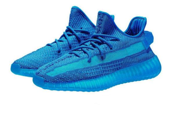 "Adidas Yeezy Boost 350 V2 Static blue ""Glow"" (40-44)"