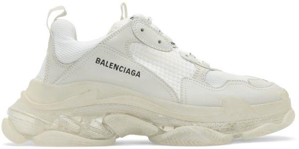 Balenciaga Triple S белые (35-39)