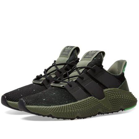 Adidas Prophere черные с зеленым мужские (40-44)
