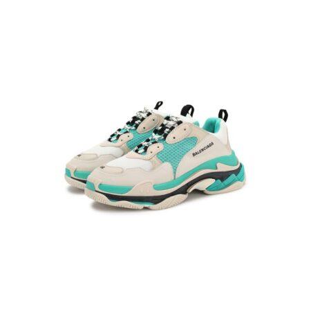 Мятные кроссовки Balenciaga