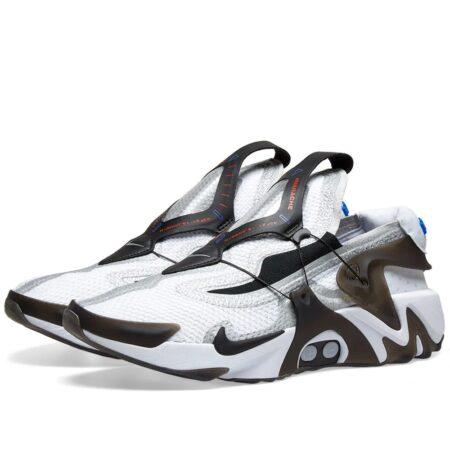 Nike Adapt Huarache белые с черным мужские (40-44)