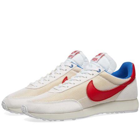 Nike Tailwind бело-бежевые с красным мужские (40-44)